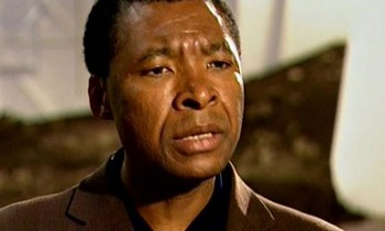 Okwui Enwezor, interview, film still, 1997*