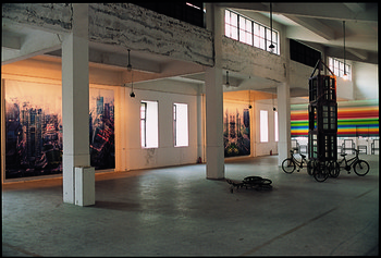 Installation view of 'Under the Heat of the Sun',