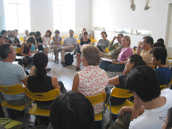 An Asia-Europe meeting at BizArt Centre in 2004