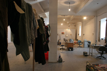 Installation view of Geng Jianyi' s exhition 'Useless' at BizArt Centre in 2004.