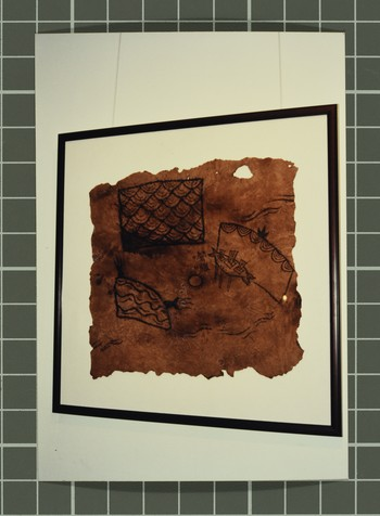 Image: Exhibition documentation of <i>Hong Kong Reincarnated New Lo Ting Archeological Find</i>, 1998.