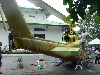Tutubing Bakal Helicopter Project (work-in-progress), 2008.