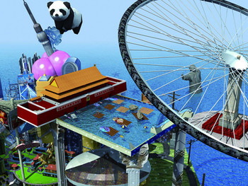 RMB CITY: A Second Life City Planning, 2007