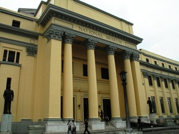 Image: Exterior view of the National Art Gallery, Manila.
