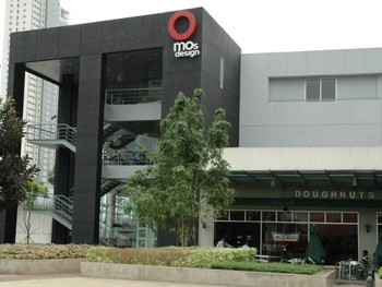 Image: Exterior view of MO _Space, Taguig, Manila.