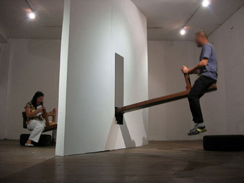 Image: <i>Faulty Wings</i>, 2006, installation.