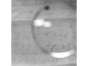 Gandhi's Glasses - Viewing a note on his 'Day of Silence' shortly before his death (ed. 5), 2003