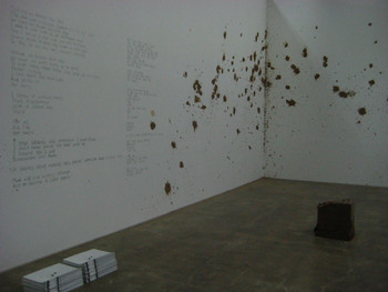 Eunji Cho, From Mud Poem Exodus, 2006–07, performance.