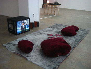 Pidgin Collective, Tenor and Sweet Potatoes, 2004, DVD and installation.