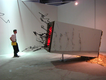 Xian Ji Cui, Pandora's Box, 2008, mixed media, dimensions variable.