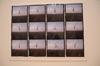 Li Wei (Mainland China), <i>Life at the High Place No. 3</i>, Documentaries of Chinese Performance Art 2008 exhibition.