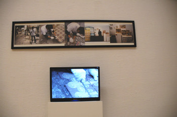 Chris Ho (Macao), <i>Public Sales</i>, Documentaries of Chinese Performance Art 2008 exhibition.