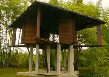 Swedish artist Carl Michael von Hausswolff's star-shaped house