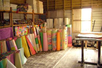 Artist Mitre Jai-In's studio in Lamphun.