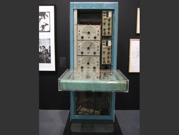 Nam June Paik & Shuya Abe, Paik-Abe Video Synthesizer, 1969–71.