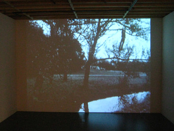 Bas Jan Ader, Fall Series, 1970–71, video installation.