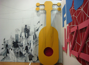 Stephen Smith/ Neasden Control Centre, Free Jazz Member, 2008, mixed-media installation.