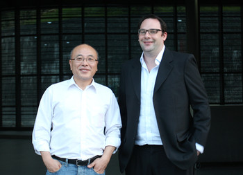 Left: Youngchul Lee; right: Tobias Berger