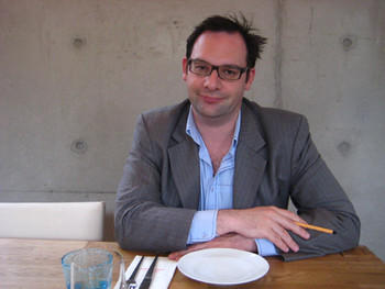 Tobias Berger, the former Para/site's executive director and curator, Hong Kong