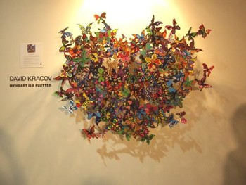 David Kracov's My Heart is a Flutter at Marigold Fine Art (New Delhi)