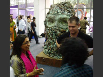 The India Art Summit opens to excited VIP guests