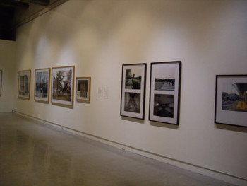 Installation view of Che One Joon's photographs.