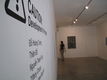 Current Exhibition at Galerie Quynh, 'Caution! Development in Progress'