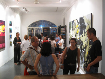 Exhibition view of current exhibition at San-Art