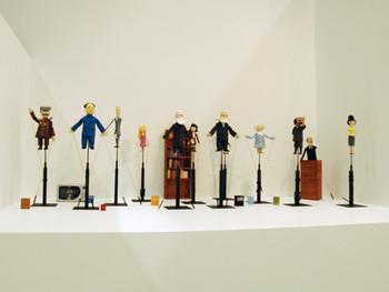 Pedro Reyes, Baby Marx, 2008 (detail) puppets, animation, Shinko Pier.