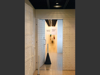 Miranda July, The Hallway, 2008, installation, Red Brick House No.1.