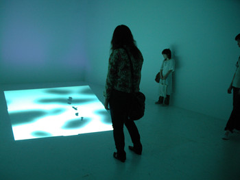 Paul Chan, 6th Light, 2007, video installation, BankART Studio NYK.