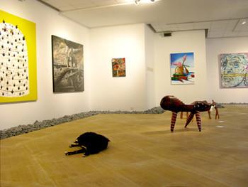 Exhibition view of 'Tanah Air: Art for Nature 2009' at Rimbun Dahan