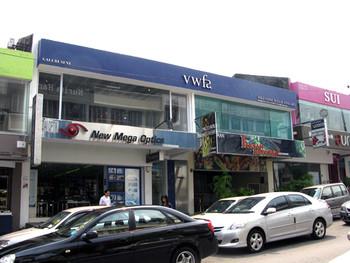 Valentine Willie Fine Art (VWFA) located in the upmarket area of Bangar Baru, Kuala Lumpur