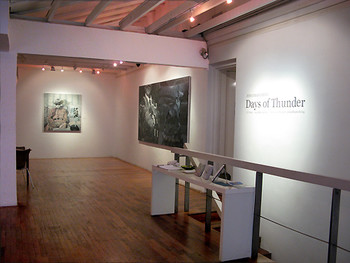 'Days of Thunder' features recent paintings by Filipino artist Jonathan Ching at the VWFA.