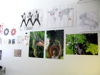 Vincent Leong's studio