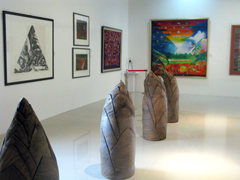 Exhibition view of 'Timelines',