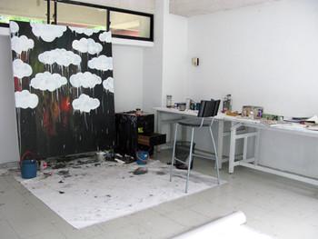 The studio at Rimbun Dahan
