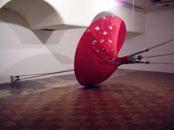 Truong Tran, The Dancer, 2005, installation.
