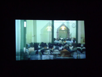 Suha Shoman, Stop For God's Sake, 2008, single channel video, 13:07mins.