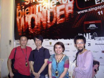 Qing Sonnenberg (Cai Qing), Cheo Chai-Hiang, Susanna Chung, Imamura Youhei