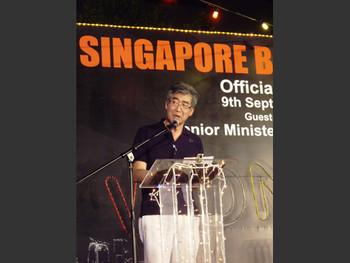 Fumio Nanjo, Artistic Director, Singapore Biennale 2008.