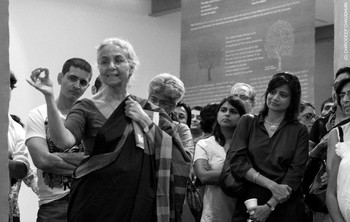 Photographs of the Exhibition 'Each Night Put Kashmir in Your Dreams' by Chirodeep Chaudhuri