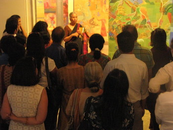 Photographs of the Exhibition 'Each Night Put Kashmir in Your Dreams' at Gallery Chemould