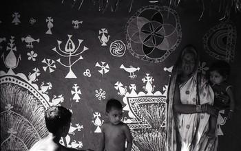 Rangoli and Wall Paintings, Bhubaneswar (1987)