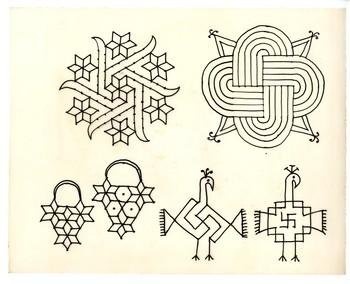 Rangoli Sketches
