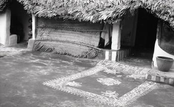 Kolam (Rangoli), Narsingpet and Perumal Temple (1993)