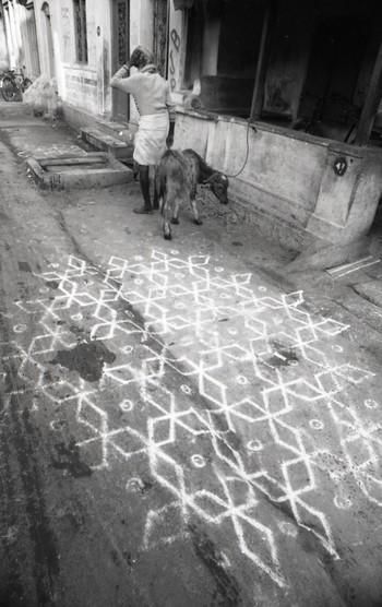 Rangoli, Parthasarathy Temple in Triplicane (1993)