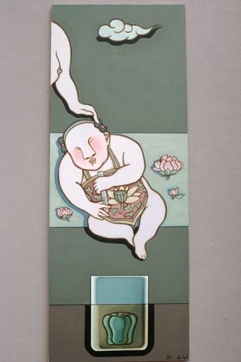 Work by Guan Wei