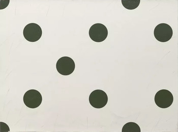 "1994 <br />Acrylic, pencil on paper <br />76 x 56 cm <br />Edition: unique <br />Donated by Tina Kim Gallery and the artist. <br />Kim Yong-Ik conceived his series of polka-dot paintings ""Closer. . . Come Closer. . . "" in the 1990s as a challenge to modern art, covering up his abstract paintings with circles in order to contradict their abstract expressionism. In this iteration, Kim re-edited his work from the 1990s to create a new meaning, this time letting the circles speak for themselves . The new Closer...Come Closer... is unsentimental and relentlessly focused on both undermining tropes of modernist abstraction and rethinking the process of artistic production."