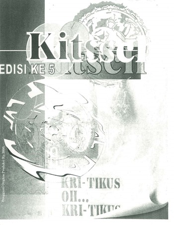 Kitsch Bulletin of Fine Arts (Edition 5)_Cover